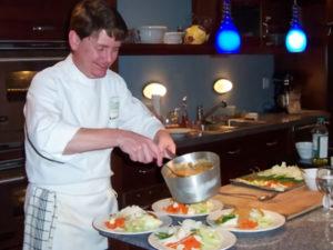 Chef David Plating