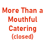 More Than A Mouthful Catering Logo